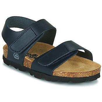 Chaussures Garçon Sandales et Nu-pieds Citrouille et Compagnie BELLI JOE Bleu