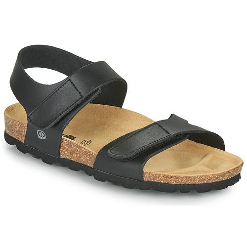 Chaussures Garçon Sandales et Nu-pieds Citrouille et Compagnie BELLI JOE Noir