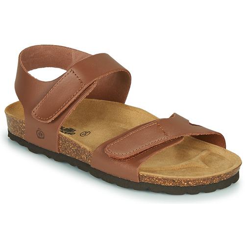 Chaussures Garçon Sandales et Nu-pieds Citrouille et Compagnie BELLI JOE Marron