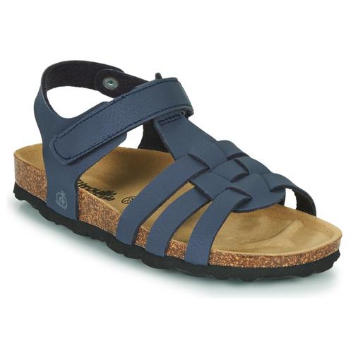 Chaussures Garçon Sandales et Nu-pieds Citrouille et Compagnie JANISOL Bleu
