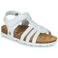 Chaussures Fille Sandales et Nu-pieds Citrouille et Compagnie JANISOL Blanc