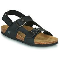 Chaussures Garçon Sandales et Nu-pieds Citrouille et Compagnie KELATU Noir