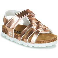 Chaussures Fille Sandales et Nu-pieds Citrouille et Compagnie MALIA Rose