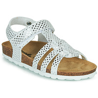 Chaussures Fille Sandales et Nu-pieds Citrouille et Compagnie MALIA Blanc