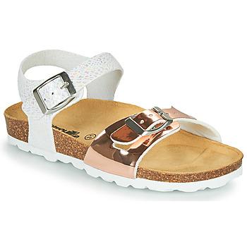 Chaussures Fille Sandales et Nu-pieds Citrouille et Compagnie RELUNE Doré