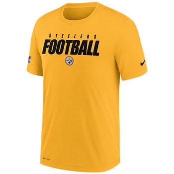 Vêtements T-shirts manches courtes Nike T-Shirt NFL Pittsburgh Steeler Multicolore