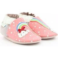 Chaussures Fille Chaussons bébés Robeez RAINBOW Rose