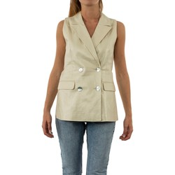 Vêtements Femme Vestes / Blazers Vero Moda naja pristine beige