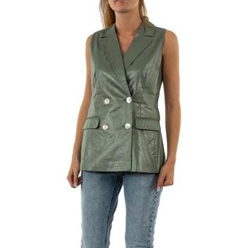 Vêtements Femme Vestes / Blazers Vero Moda naja laurel wreath vert