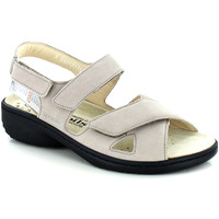 Chaussures Femme Sandales et Nu-pieds Mobils GERYNA LIGHT TAUPE