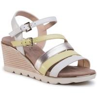 Chaussures Femme Sandales et Nu-pieds Caprice 28709 Blanc