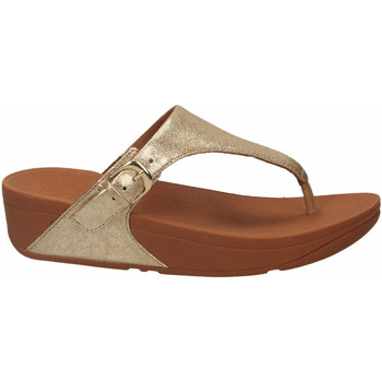 Chaussures Femme Tongs FitFlop SKINNY  TOE THONG platino