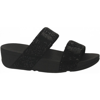 Chaussures Femme Mules FitFlop MINA CRYSTAL SLIDES black