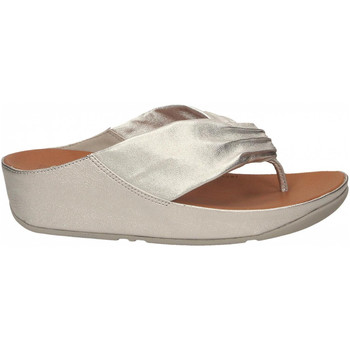 Chaussures Femme Tongs FitFlop TWISS silver