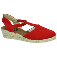 Chaussures Femme Espadrilles Ludiher Anatomicos  Rouge