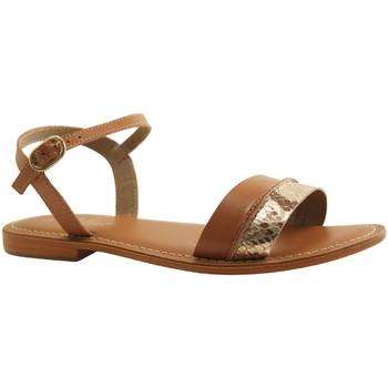 Chaussures Femme Sandales et Nu-pieds L'atelier Tropezien SH324 COGNAC