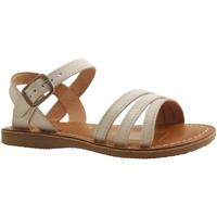 Chaussures Fille Sandales et Nu-pieds L'atelier Tropezien IL104E BLANC