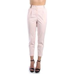 Vêtements Femme Chinos / Carrots Peserico P04979 01938 Pantalone Femme Rose Rose
