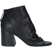Chaussures Femme Bottines Elvio Zanon EL6102X tronchetto femme NOIR NOIR