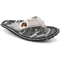 Chaussures Homme Tongs Gumbies Islander Grey Camouflage Gris