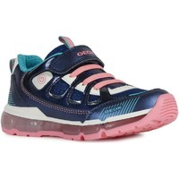 Chaussures Fille Baskets basses Geox J0245C-0AJAS-C4000 J Android Girl C Bleu