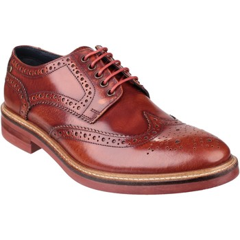 Chaussures Homme Derbies Base London Woburn PI06242 Hi-Shine Bronzer