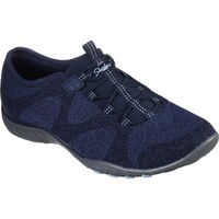Chaussures Femme Derbies & Richelieu Skechers 23855NVY3 Breathe-Easy Opportuknity Marine