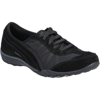 Chaussures Femme Baskets basses Skechers SK23845-BLK-3 Breathe-Easy-Weekend Wishes Noir