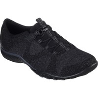 Chaussures Femme Derbies & Richelieu Skechers 23855BLK3 Breathe-Easy Opportuknity Noir