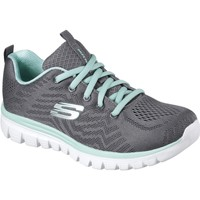 Chaussures Femme Fitness / Training Skechers 12615CCGR3 Graceful Get Connected Charbon