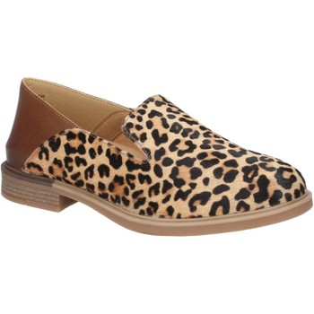 Chaussures Femme Mocassins Hush puppies HW06568-014-3 Bailey Slip On Léopard Calf Hair