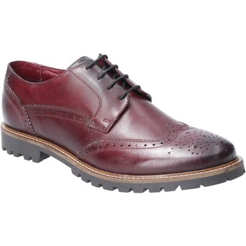 Chaussures Homme Derbies Base London TQ02538-40 Grundy Washed Bordo