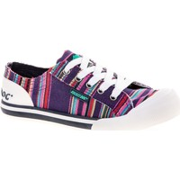 Chaussures Femme Baskets basses Rocket Dog JAZZINAE-NAVY-3 Jazzin Canvas Aloe Violet Multi