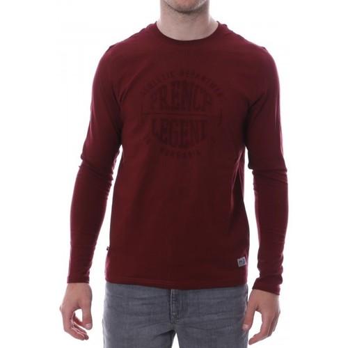 Vêtements Homme T-shirts manches longues Hungaria H-16TLMOCOFR Rouge