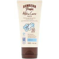 Beauté Protections solaires Hawaiian Tropic Aloha Care Face Sun Lotion Spf30