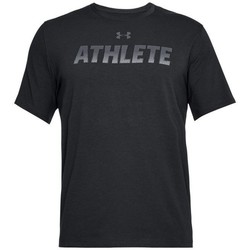 Vêtements Homme T-shirts manches courtes Under Armour Athlete SS Noir