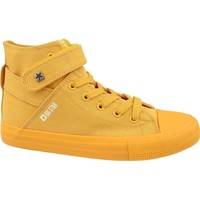 Chaussures Femme Baskets montantes Big Star FF274581 Jaune
