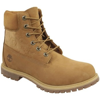 Chaussures Femme Baskets montantes Timberland 6 IN Premium Boot W Miel