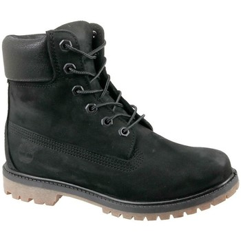 Chaussures Femme Baskets montantes Timberland 6 IN Premium Boot W Noir