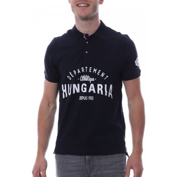Vêtements Homme Polos manches courtes Hungaria H-16TLMODOLE Bleu