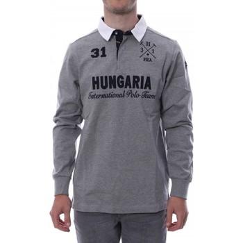 Vêtements Homme Polos manches longues Hungaria H-16TLMOLORE Gris