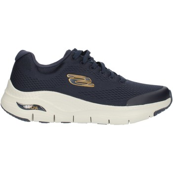 Chaussures Homme Baskets montantes Skechers 232040 Bleu