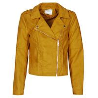 Vêtements Femme Vestes en cuir / synthétiques JDY JDYNEW PEACH Moutarde