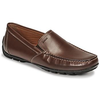 666fb3ca2ee1 Chaussures Homme Mocassins Geox MONET Marron