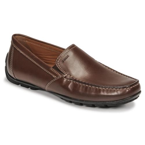 Chaussures Homme Mocassins Geox MONET Marron