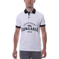 Vêtements Homme Polos manches courtes Hungaria H-16TLMODOLE Blanc
