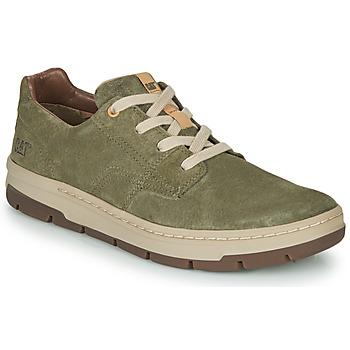Chaussures Homme Baskets basses Caterpillar RIALTO NUBUCK Vert