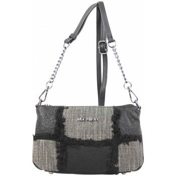 Sacs Femme Sacs Bandoulière Mac Alyster Petit sac bandoulière chaîne  panache noir Multicolor