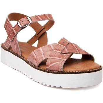 Chaussures Femme Sandales et Nu-pieds Wikers 66777 PINK