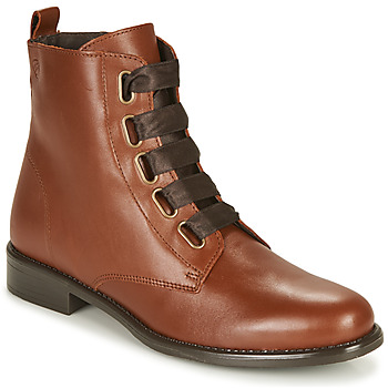 Chaussures Femme Boots Betty London NAMA Camel